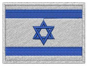 Nášivka Izraelská vlajka