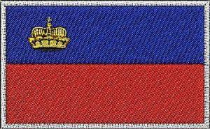 Nášivka Lichtenštejnská vlajka
