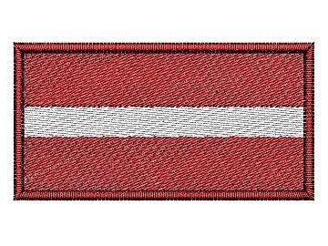 Lotyšská vlajka Pelisport