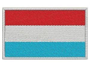 Nášivka Lucemburská vlajka