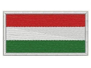 Nášivka Maďarská vlajka