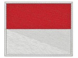 Nášivka Monacká vlajka