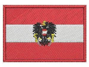 Nášivka Rakouská vlajka