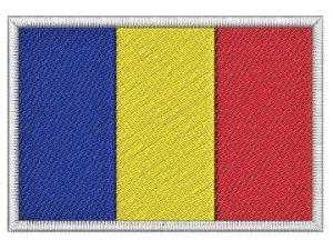 Nášivka Rumunská vlajka