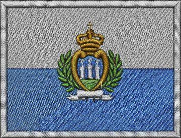 Sanmarinská vlajka Pelisport