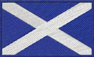 Nášivka Skotská vlajka