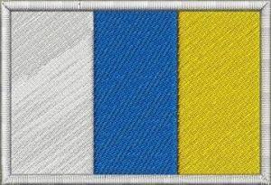 Nášivka Vlajka Kanárské ostrovy