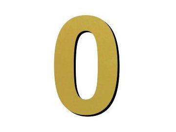 číslice 0