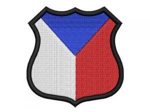 Nášivka Česká vlajka erb