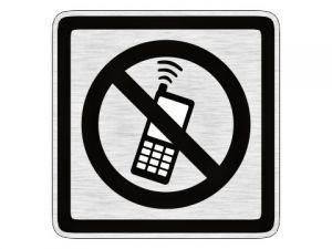 Piktogram zákaz telefonování