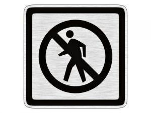 Piktogram Zákaz vstupu