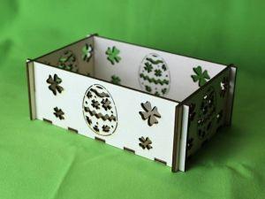 Krabička velikonoční