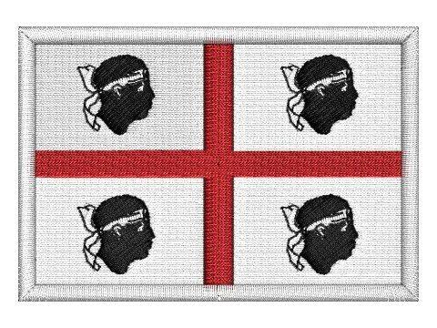 nášivka Sardinská vlajka