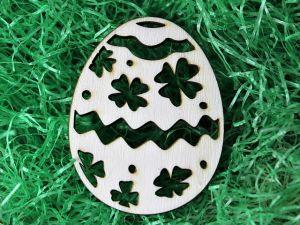 Velikonoční vajíčko čtyřlístek