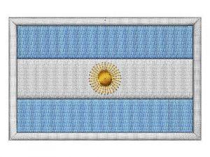Nášivka Argentinská vlajka