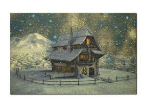 Vánoční pohlednice 1