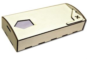 Krabička na kravaty dlouhá