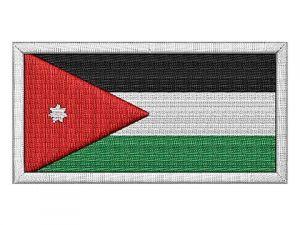 Nášivka Jordánská vlajka