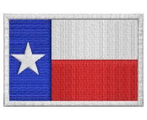 Nášivka Texas vlajka