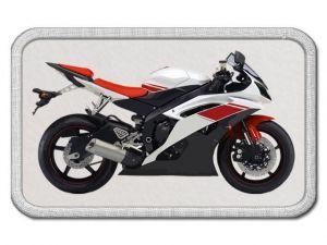 Nášivka s motorkou
