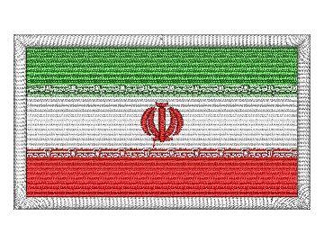 nášivka Iránská vlajka