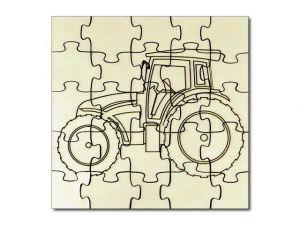 Puzzle Traktor