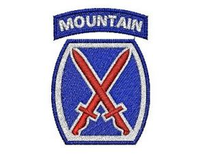 10th Mountain Division SSI