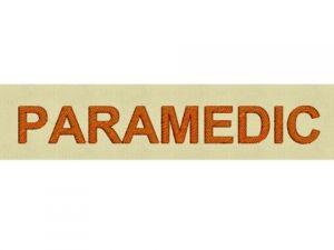 Výšivka Paramedic