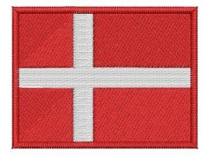 Nášivka Dánská vlajka